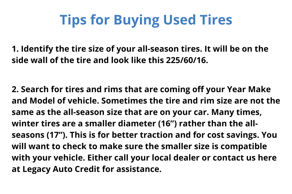 tips on used tires